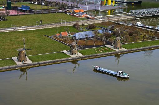 Miniature city Madurodam. The Hague, Netherlands.