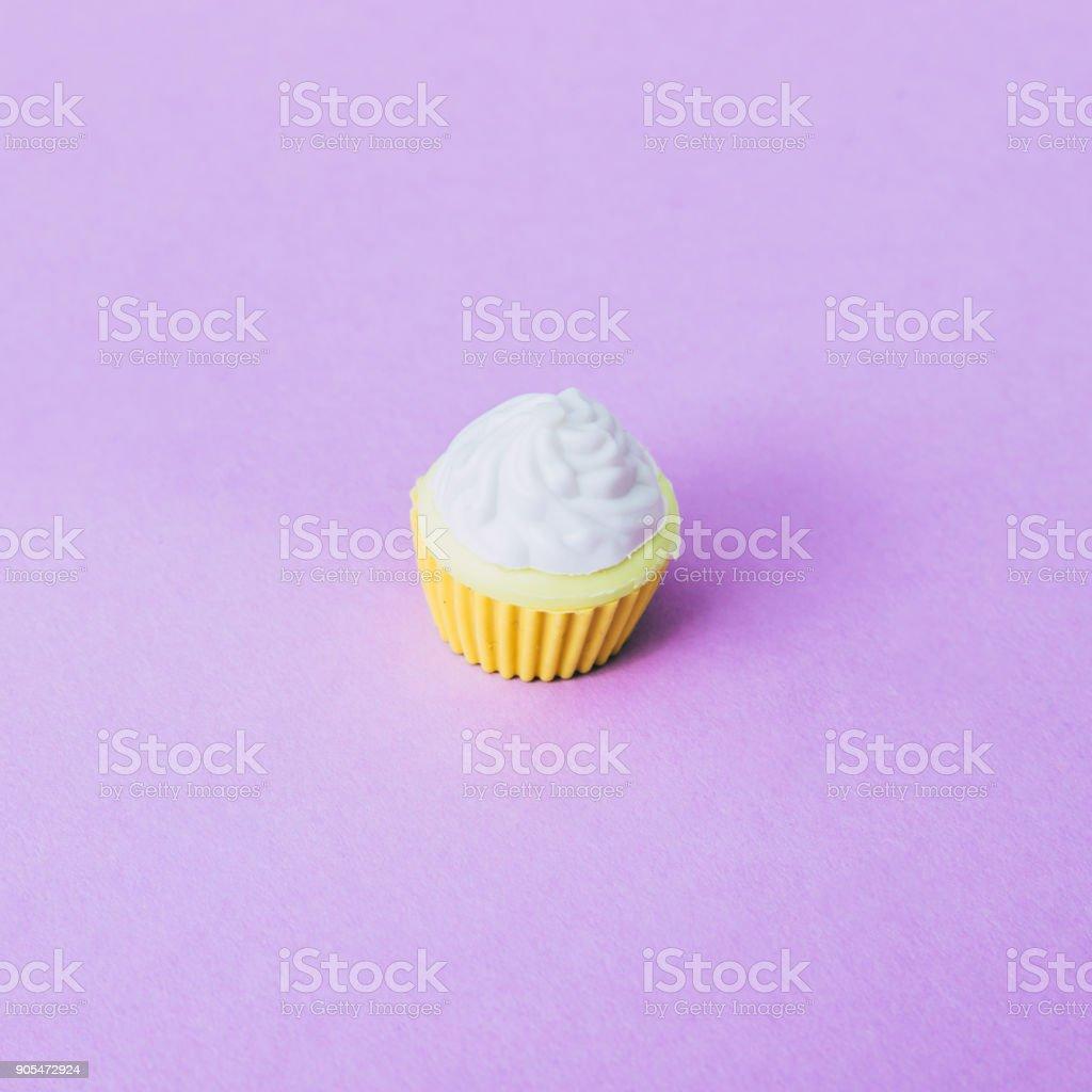 miniature cupcake stock photo