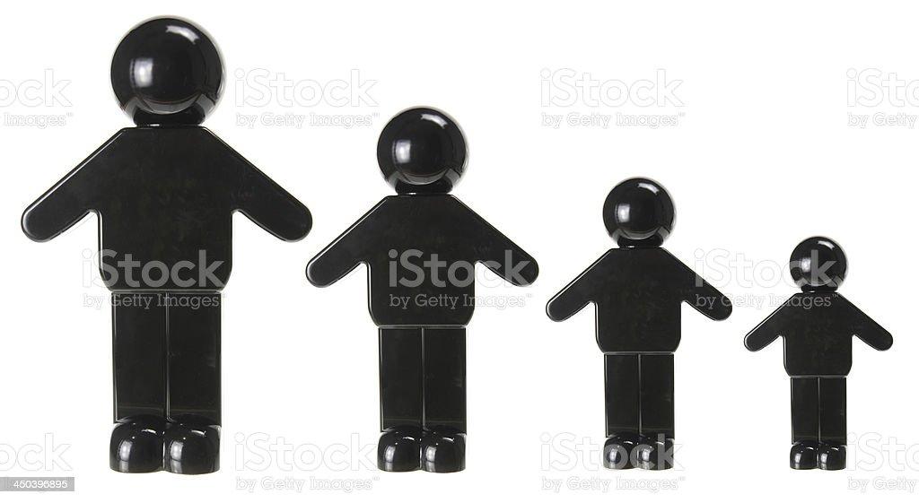 Miniature Figures stock photo