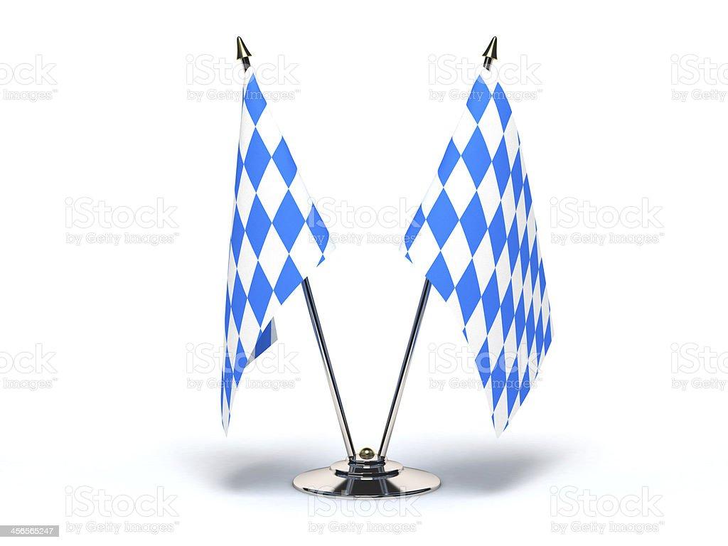 Miniatur-Flagge of Bavaria – Foto