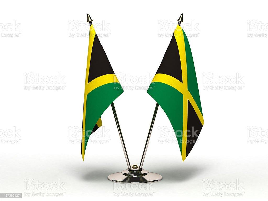 Miniatura bandeira da Jamaica (isolado - foto de acervo