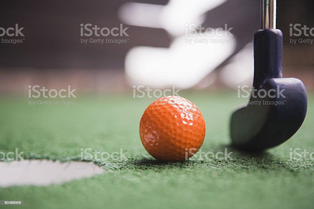 Mini Golfe foto de stock royalty-free