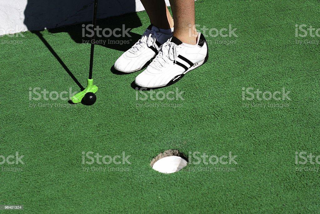 Miniature golf - Royalty-free Activity Stock Photo
