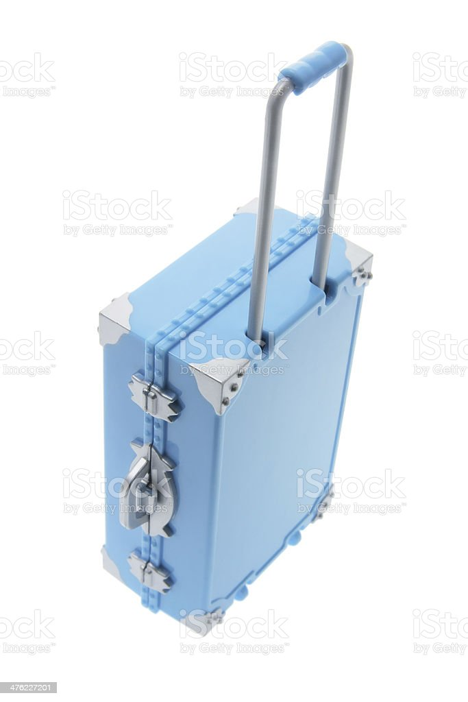 Miniature Hand Baggage royalty-free stock photo