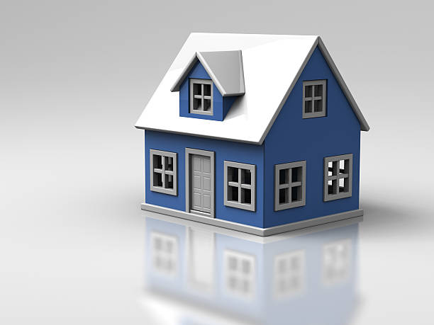 Miniature House stock photo
