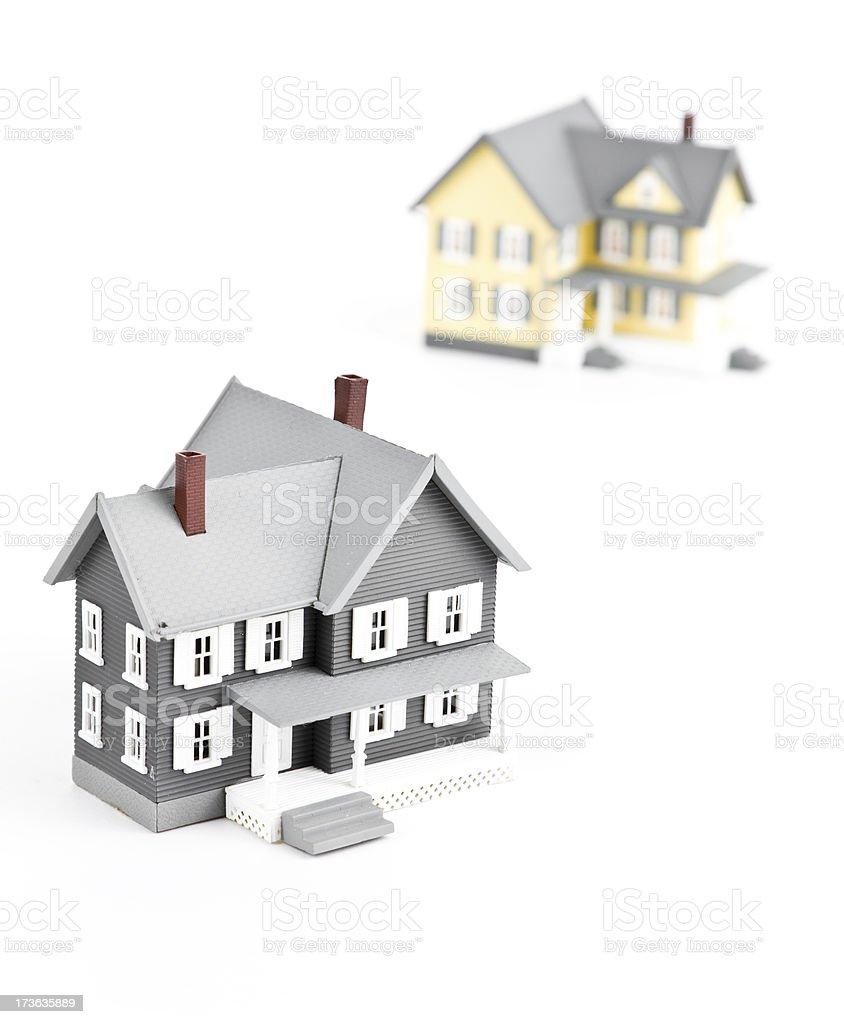 Miniature houses royalty-free stock photo