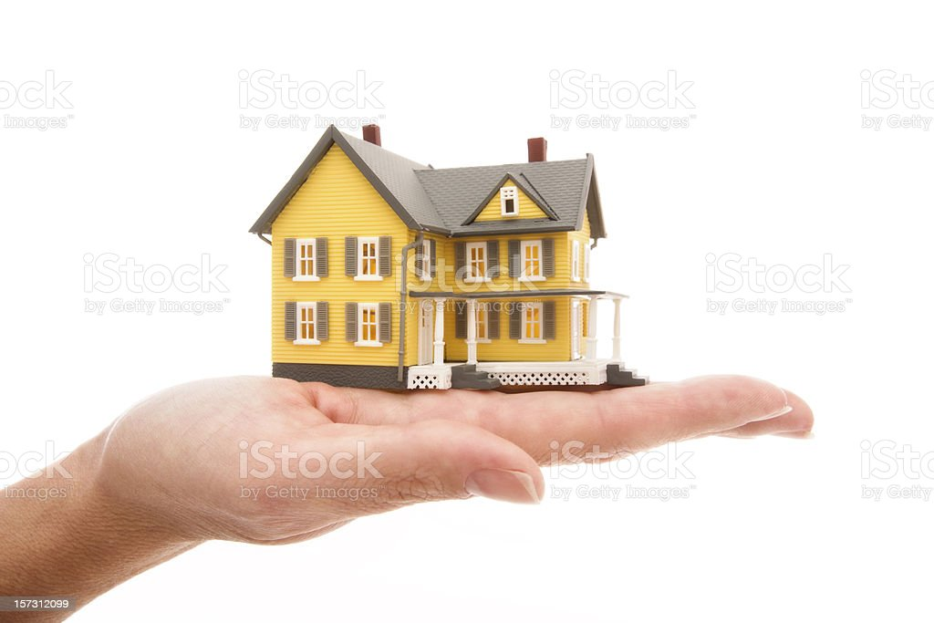 Miniature model house series royalty-free stock photo