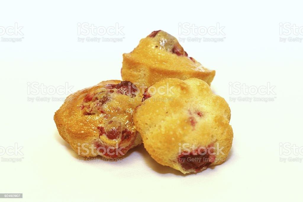 Miniature Muffins royalty-free stock photo
