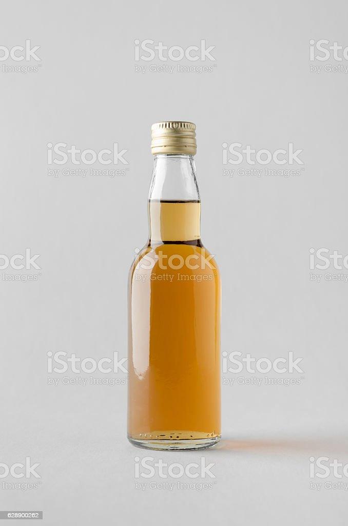 Miniature Spirits/Liquour Bottle Mock-Up stock photo