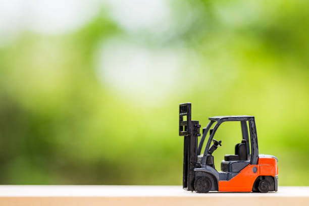 Small Electric Forklift Stock Photos, Pictures & Royalty