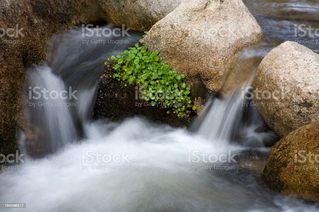 Miniature Weir stock photo