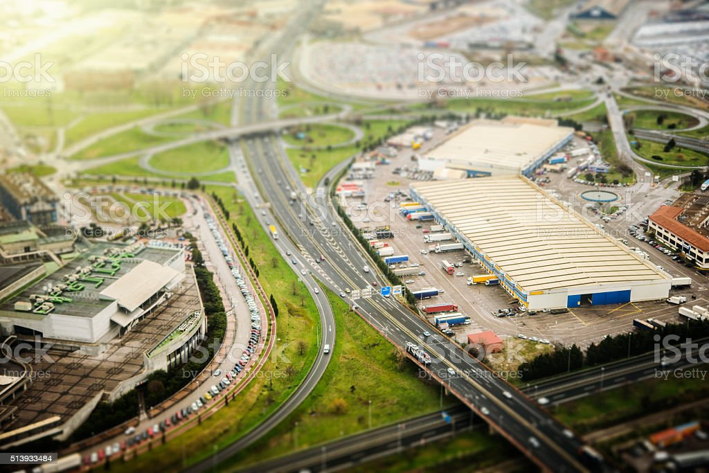 Miniature world stock photo