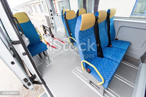466456685 istock photo Minibus physically disabled 529586823