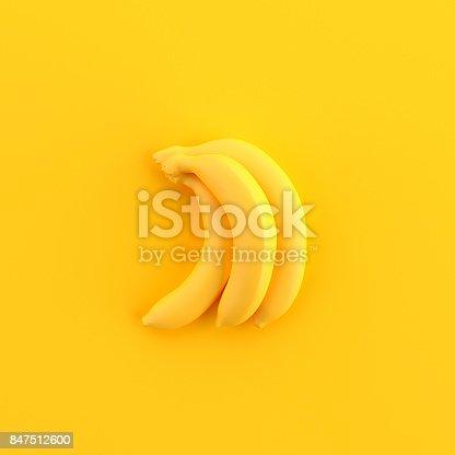 istock Minimal bananas 847512600