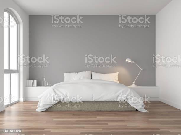 Minimal bedroom with gray wall 3d render picture id1137518423?b=1&k=6&m=1137518423&s=612x612&h=2dwkk5y4gvus 66fnme4xpt0mmvaau17x9xbwbvc 2y=