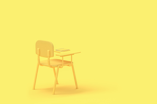 istock minimal concept Lecture chair 1063592652