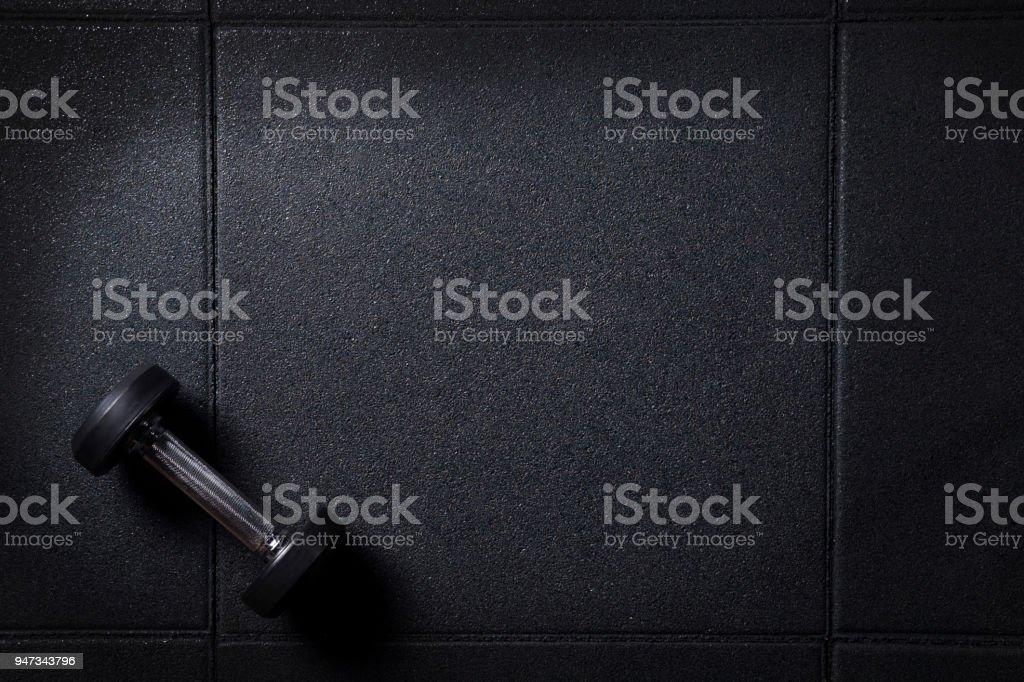 Fondo oscuro de gimnasio mínimo foto de stock libre de derechos