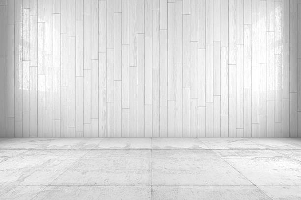 minimal room - cement floor stock photos and pictures
