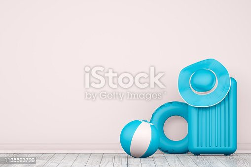 istock Minimal Summer and Travel Concept 1135563726