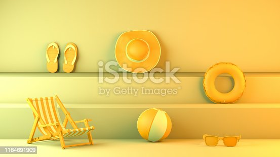 1153498948istockphoto Minimal summer and travel concept with staircase platform 1164691909