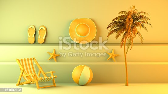 1153498948istockphoto Minimal summer and travel concept with staircase platform 1164692103