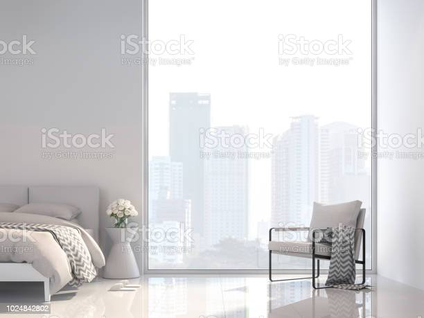Minimal white bedroom with city view 3d render picture id1024842802?b=1&k=6&m=1024842802&s=612x612&h=3gcb09336e5cyi3ck2ehiin3tce7mrrfmuki1 xv2ui=