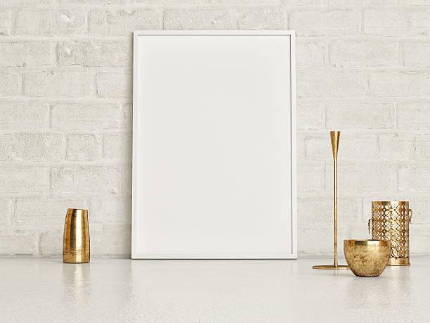 minimalism, mock up poster - bilder poster stock-fotos und bilder