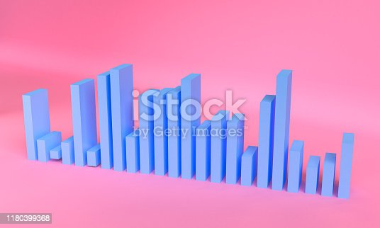 1166441358 istock photo Minimalist abstract background shape colorfull scene, 3d rendering. 1180399368