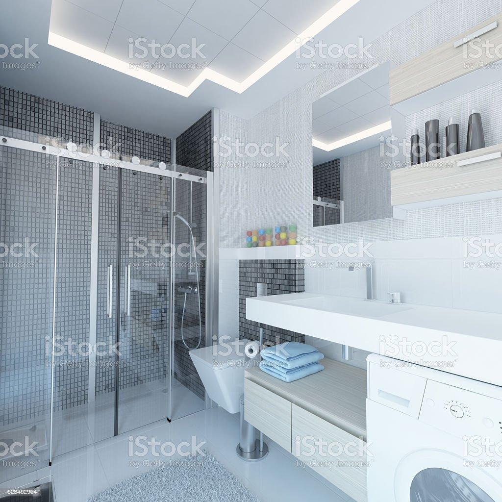 Minimalist Bathroom Images: Minimalist Bathroom Interior Design Stock Photo & More