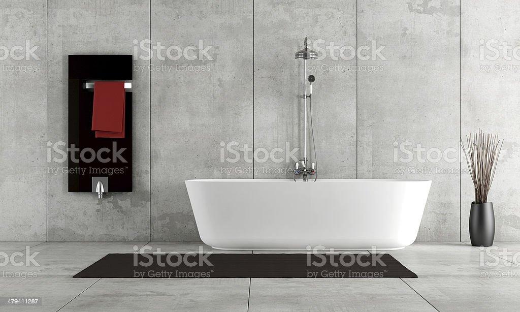 Minimalist bathroom royalty-free stock photo
