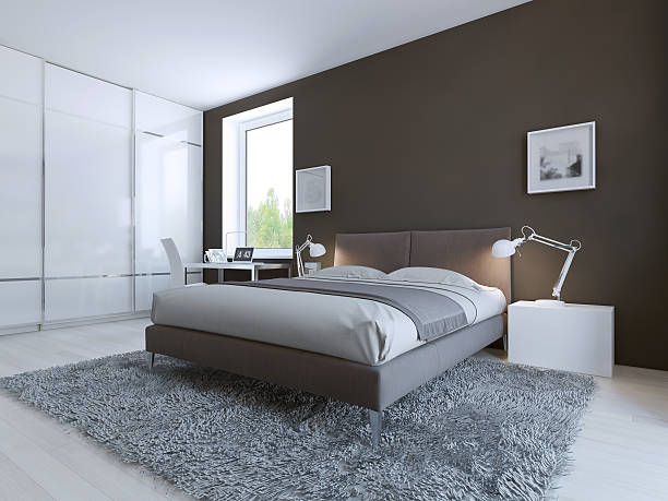 Minimalist bedroom for good rest