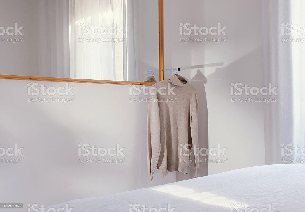 Minimalist Bedroom royalty-free stock photo