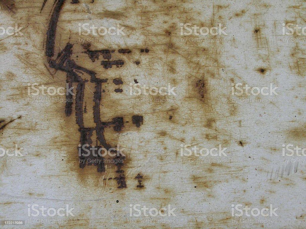 minimalist grunge rusty background with crackling royalty-free stock photo