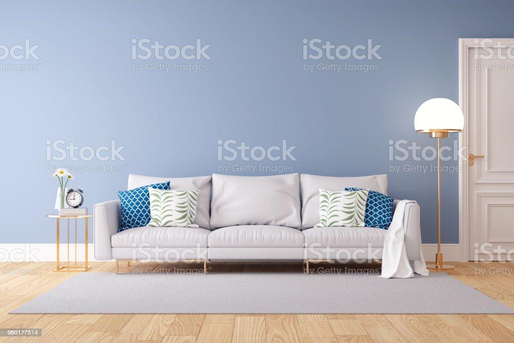 Minimalist Pastel Color And Modern Room Interior Designlight ...