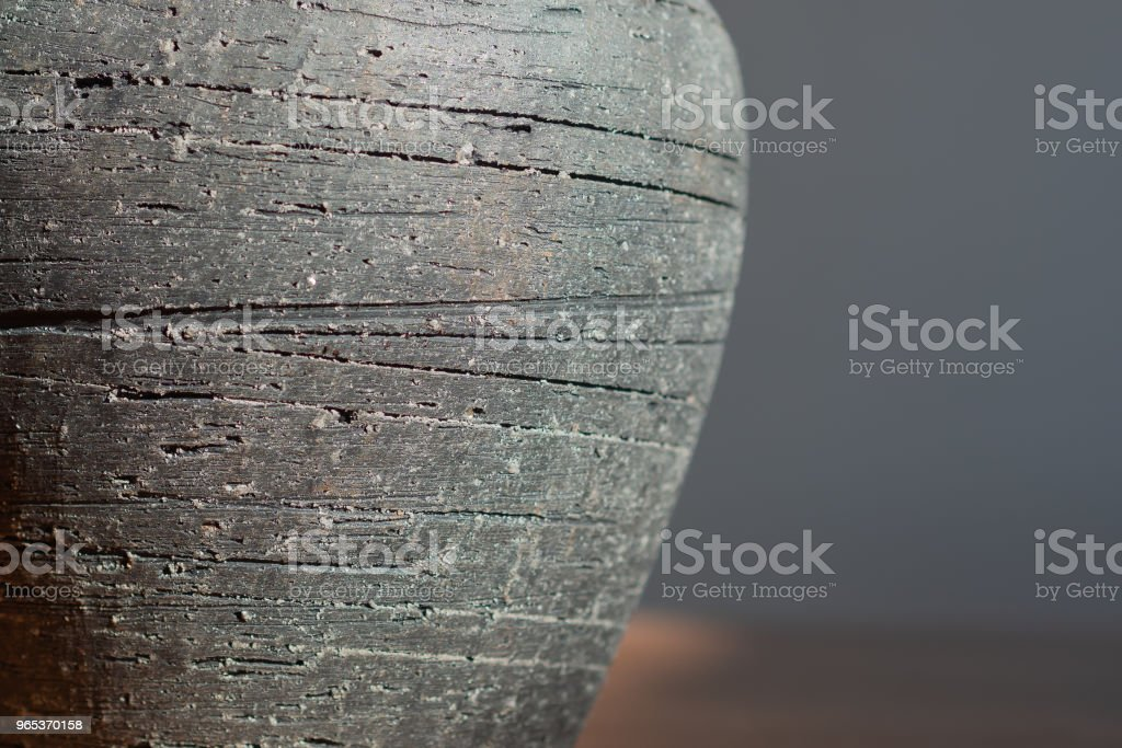 Minimalist view of a natural slate object royalty-free stock photo
