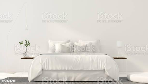 Minimalistic interior of white bedroom picture id673826086?b=1&k=6&m=673826086&s=612x612&h=9qh3zjt6yrikjjp4 gorjhdzshzwlznmzqdpkpfrqvm=