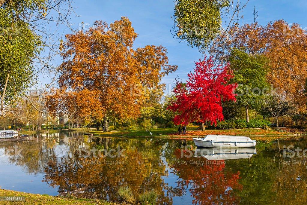 Minimes Lac Vincennes Forêt de Paris, France - Photo
