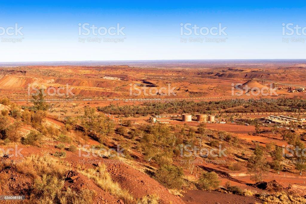 Mining in Australia. stock photo