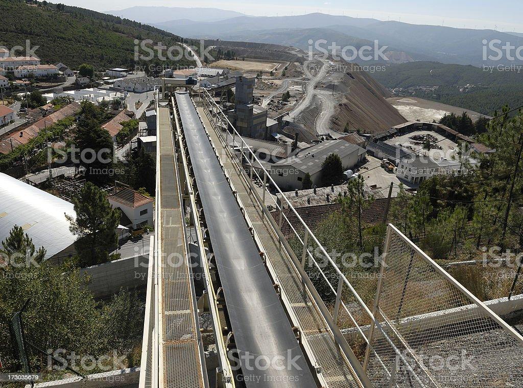 Mining industry royalty-free stock photo
