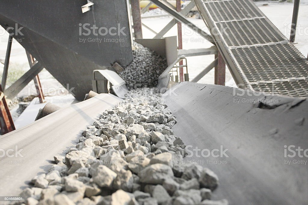 Mining industry stock photo