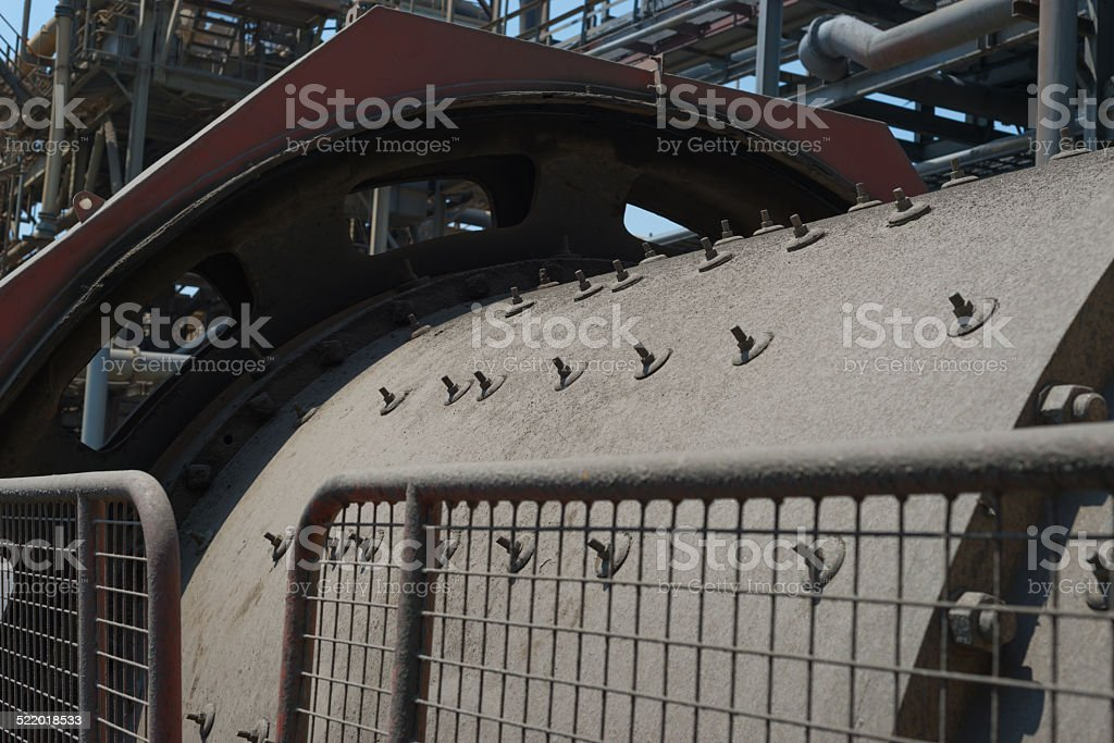 Mining mill stock photo