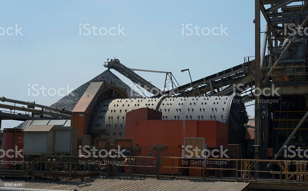 Mining & milling stock photo