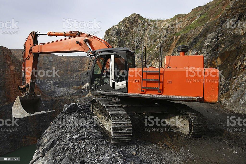 Mining royalty-free stock photo