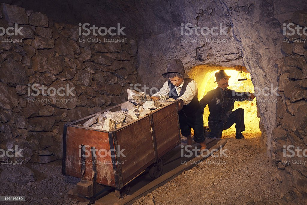 Mining Process From Its Early Beginnings