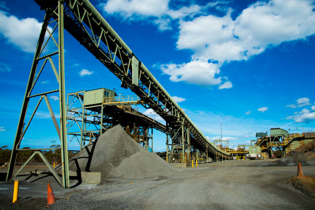 Mining Process Plant Mining Process Plant nickel stock pictures, royalty-free photos & images