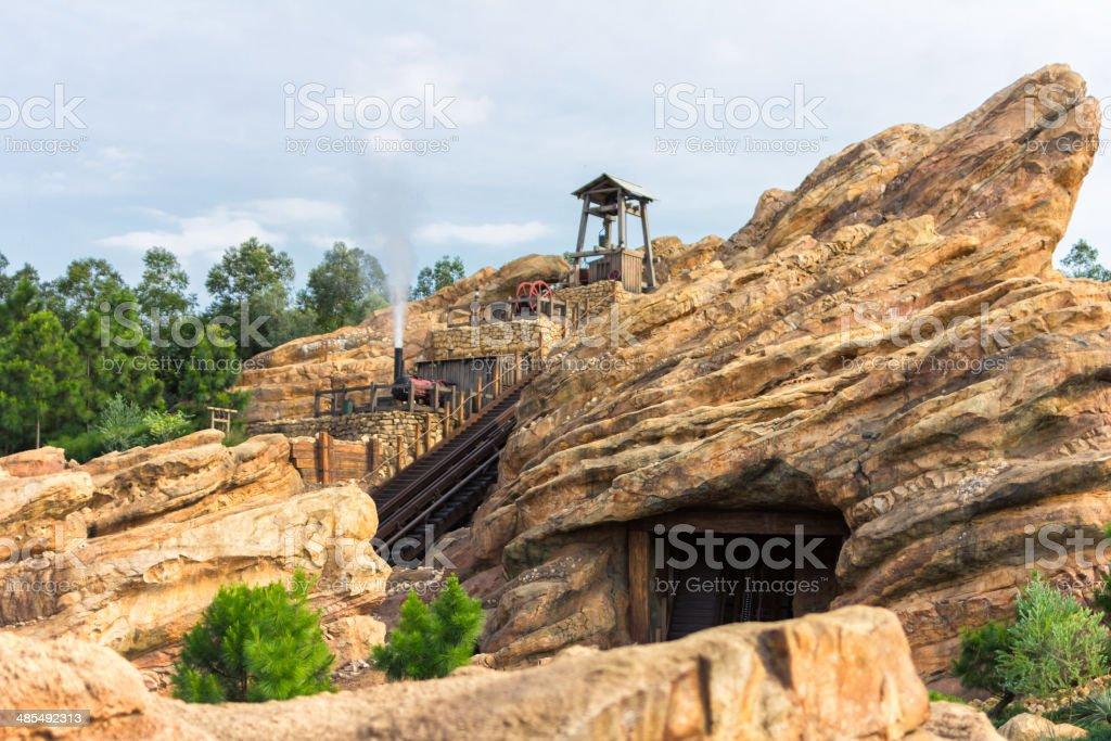 Bergbau Schaft – Foto