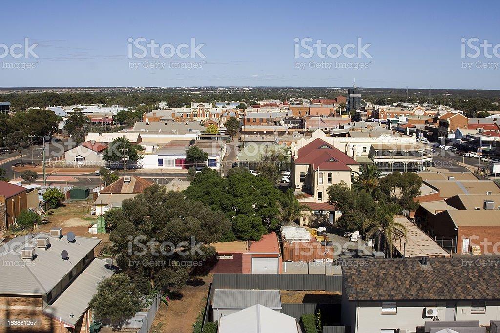 Mining Town Australia stock photo