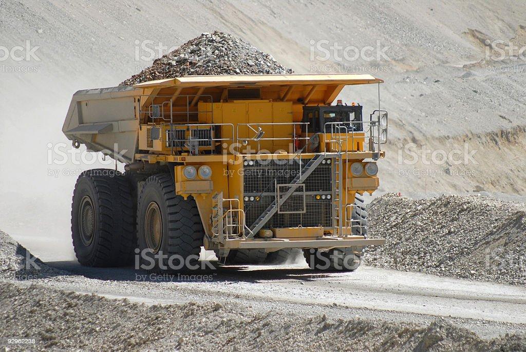 Minería camión de - foto de stock