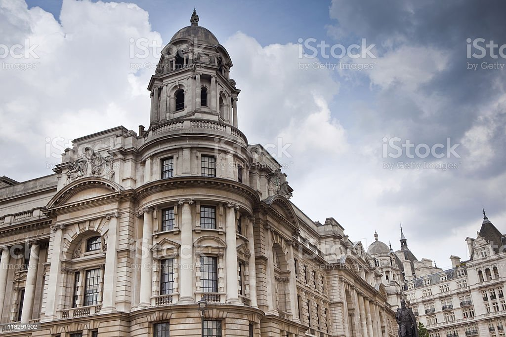 Ministry of Defence building, London stock photo