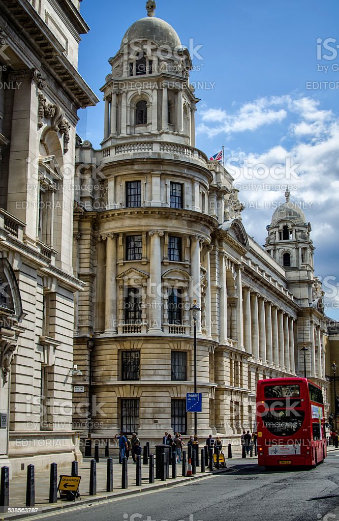 Ministry of Defence Old War Office Building on Whitehall, London stock photo